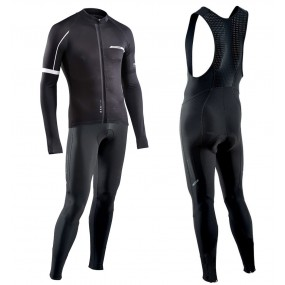 2017 Northwave Blade NW Noir Maillot Cyclisme manches longues et Collant