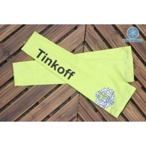 2016 Tinkoff Saxo Bank Jaune Manchettes Thermiques
