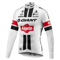 2016 Giant Alpecin TDF Édition blanc Maillot manches longues