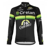 2016 Crelan-AA Drink Noir Maillot manches longues