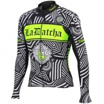 2016 Tinkoff Training Noir Maillot manches longues