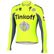 2016 Tinkoff Race Équipe Maillot manches longues
