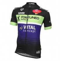 2016 Fortuneo Vital Concept Maillot Cyclisme manches courtes