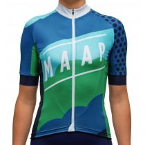 2016 Maap Clouds femmes's Maillot Cyclisme manches courtes