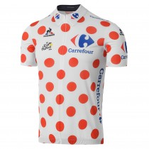 2016 Tour De France Montagnes Classification Maillot Cyclisme manches courtes
