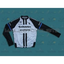 2014 Équipe Giant Shimano Maillot Cyclisme manches longues