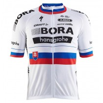 2017 Bora Hansgrohe Slovaquie Champion Maillot Cyclisme manches courtes