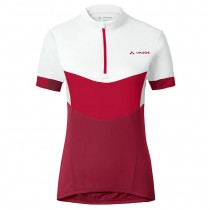 2017 Vaude Advanced II femmes blanc-rouge Maillot Cyclisme manches courtes