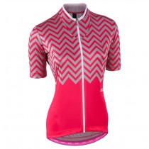 2017 Nalini PRO Wave femmes Rose Maillot Cyclisme manches courtes