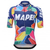 2017 Mapei Maillot Cyclisme manches courtes