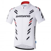2017 Shimano Performance Impression blanc Maillot Cyclisme manches courtes