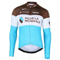 2018 AG2R Équipe Maillot manches longues