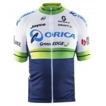 2016 Orica GreenEDGE Maillot Cyclisme manches courtes