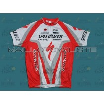 2010 Specialized  Maillot Cyclisme manches courtes
