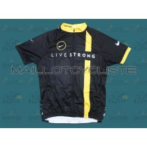 2011 LiveStrong Maillot Cyclisme manches courtes