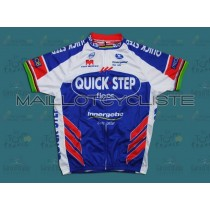 2011 QUICK STEP  Maillot Cyclisme manches courtes