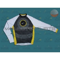 2010 Livestrong Maillot thermique manches loungues