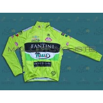 2013 Farnese Vini-Selle Fluorescent  Maillot thermique manches loungues