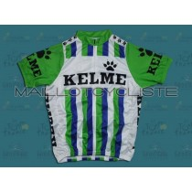 Throwback KELME VERT Maillot Cyclisme manches courtes