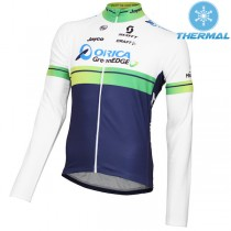 2015 Orica GreenEdge Maillot thermique manches longues