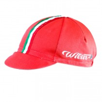 Wilier Italian rouge Casquette Cyclisme