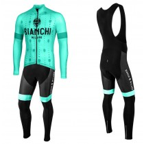 2020 Bianchi YDL Maillot Cyclisme manches longues et Collant