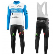 2020 Équipe ISRAEL STAT-UP NATION Maillot Cyclisme manches longues et Collant