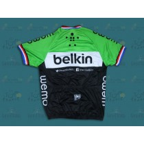 2014 Belkin Pro Champion Luxembourg équipe Maillot Cyclisme manches courtes