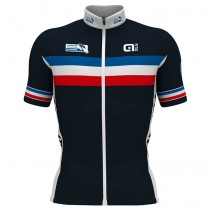 2017 French National Équipe Maillot Cyclisme manches courtes