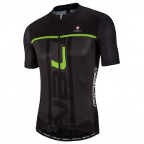 2017 Nalini PRO Speed Noir-vert Maillot Cyclisme manches courtes