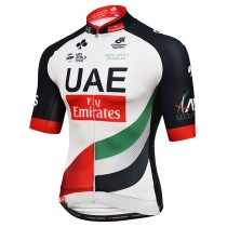 2017 UAE Fly Emirates Maillot Cyclisme manches courtes
