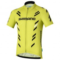 2017 Shimano Performance Impression Jaune Maillot Cyclisme manches courtes