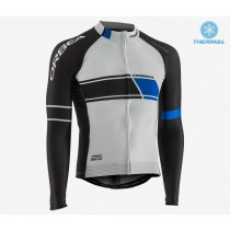 2017 Orbea Équipe blanc Maillot thermique manches loungues