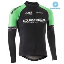 2017 Orbea Factory Équipe Maillot thermique manches loungues