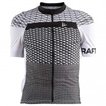 2018 Craft Route blanc Maillot Cyclisme manches courtes