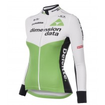 2018 Dimension Data femmes Maillot manches longues