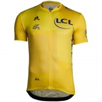2018 Tour De France General Classification Jaune Maillot Cyclisme manches courtes