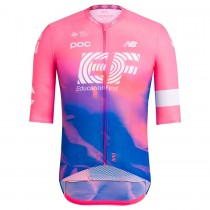 2019 Rapha EF Education Rose Maillot Cyclisme manches courtes