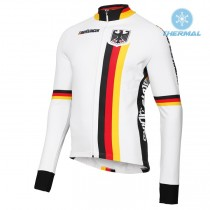 2019 Germany Country Équipe Maillot thermique manches loungues