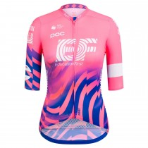 2020 EF Pro Cycling Équipe Rose femmes Maillot Cyclisme manches courtes