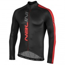 2020 Nalini LW Noir-rouge Maillot manches longues
