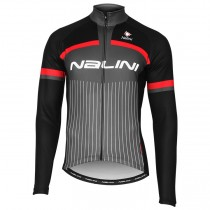 2020 Nalini Thebe Noir-rouge Maillot manches longues
