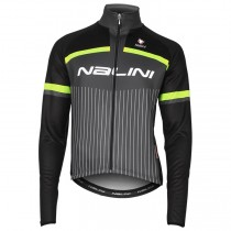 2020 Nalini Thebe Noir-Jaune Maillot manches longues