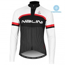 2020 Nalini Thebe Noir-blanc Maillot thermique manches loungues