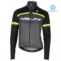 2020 Nalini Thebe Noir-Jaune Maillot thermique manches loungues