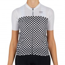 2021 Sportful Checkmate WB femmes Maillot Cyclisme manches courtes
