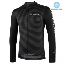 2021 Nalini Coffee Noir Maillot thermique manches loungues