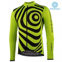 2021 Nalini Coffee Jaune Maillot thermique manches loungues