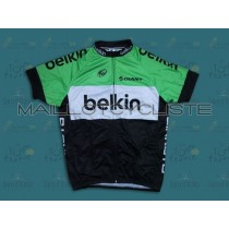 2014 Belkin Pro Maillot Cyclisme manches courtes