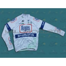 2013 Argos blanc Maillot manches longues